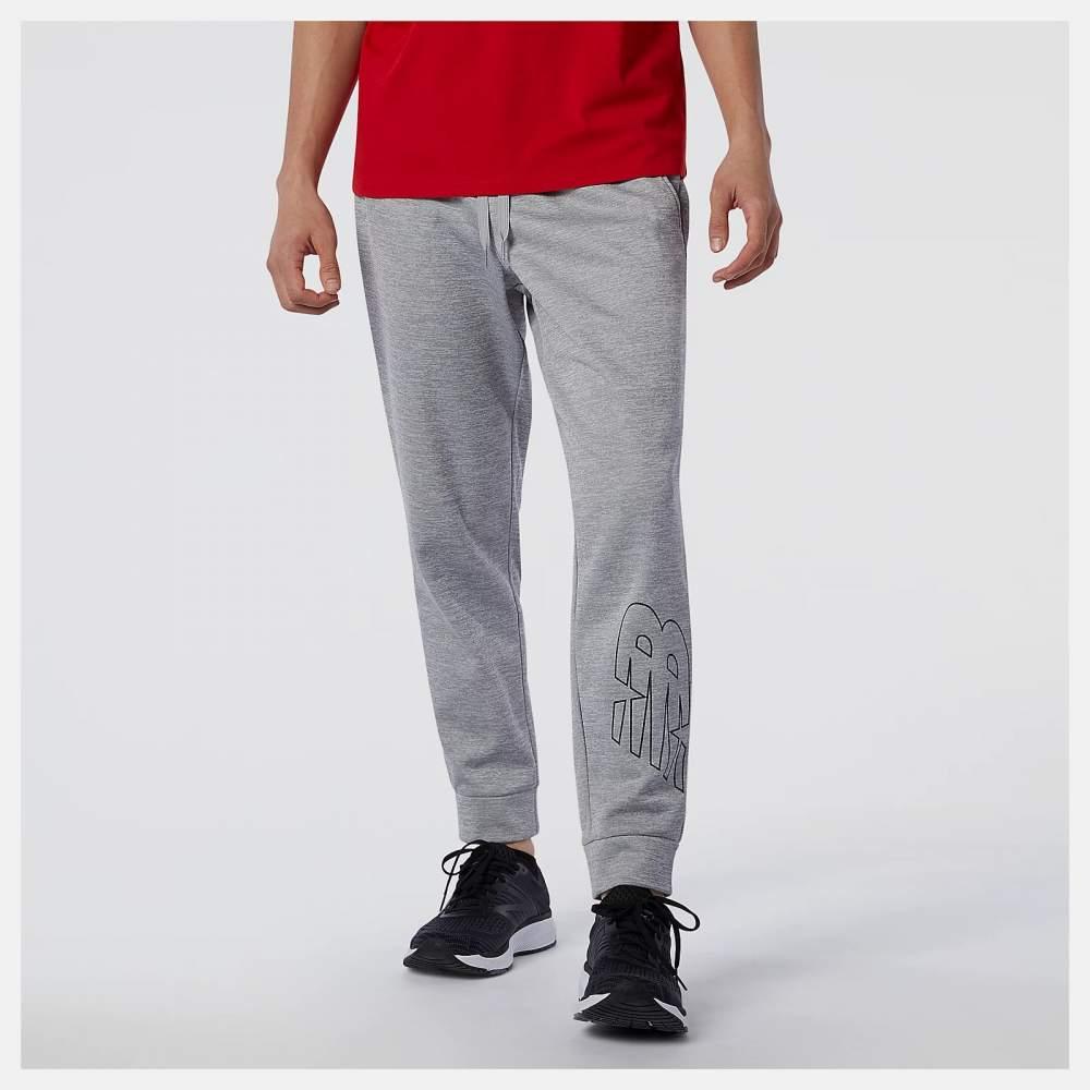 Pantalón técnico para hombre NEW BALANCE TENACITY PERFM. FLEECE BLOCKED PANTS C.GR