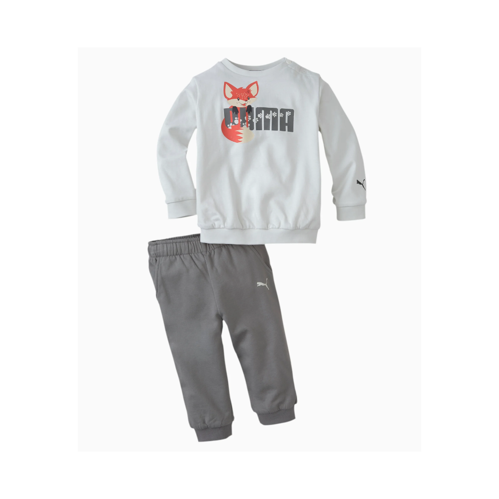 Children's cotton tracksuit PUMA ANIMALS CREW JOGGER C.05