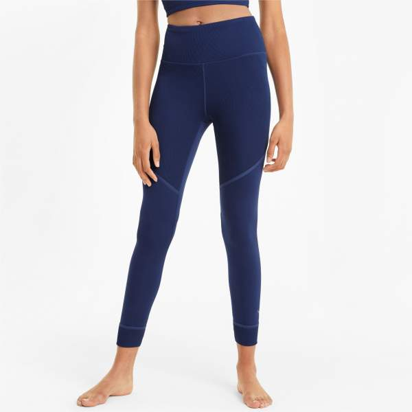 Technical mesh for women PUMA STUDIO RIB HW 7/8 TIGHT C.12