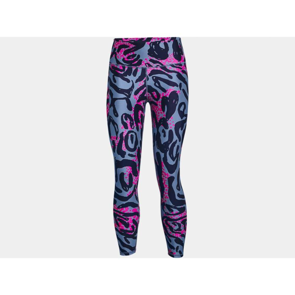 Technical leggigns for women UNDER ARMOR PRINTED ANKLE C.470